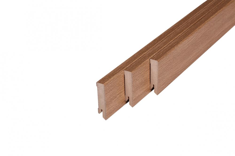 118 Laminte Skirting Board Harvester Oak