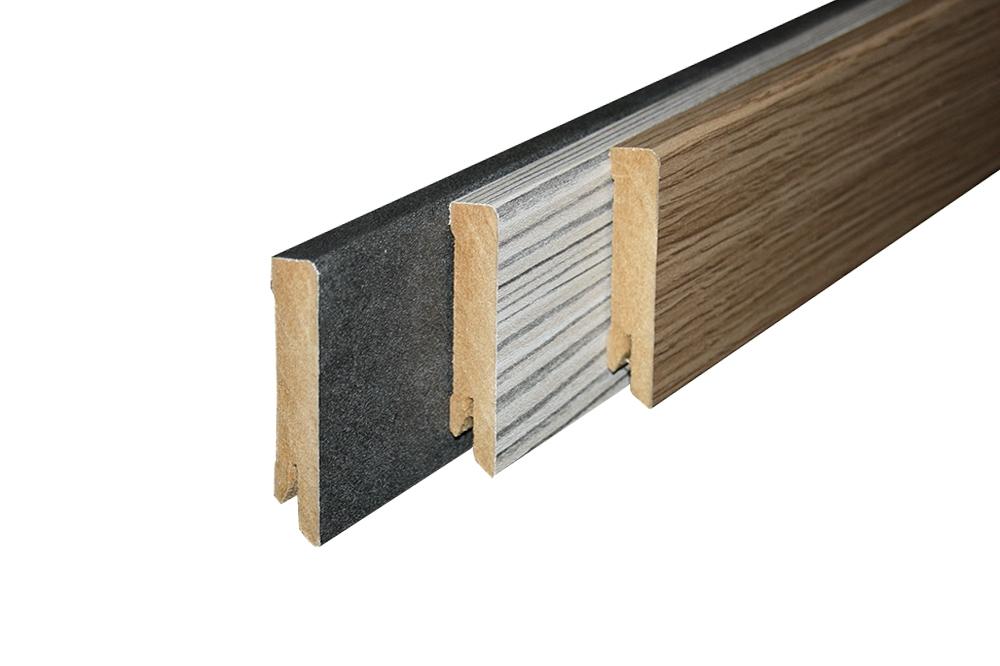 Laminaat plint houtwerf